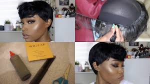 d i y how to make a pixie wig easy steps nia long 90 u0027s