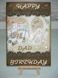 leia legweak u0027s handmade crafts diy dad birthday card