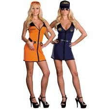 double trouble reversible police and convict prisoner costume