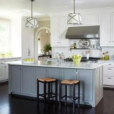 gray kitchen island white kitchen cabinets with different color island kitchens