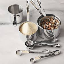 all clad stainless steel measuring cups spoons williams sonoma