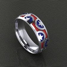the marvels wedding band captain america wedding band
