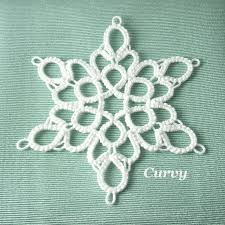 1057 best tatting for images on snowflakes