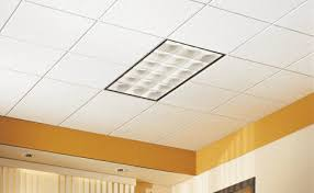 Suspended Ceiling Tile by Have A Stained Or Damaged Ceiling Tile We Have Some Drop Ceiling