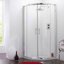 Pacific Shower Doors Doors Enclosures Merlyn 8 Series Frameless 1 Door Offset