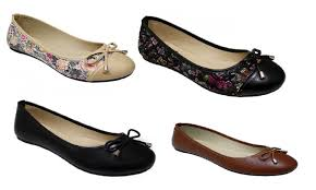 p26 womens ballerina ballet flat shoes w bow knot groupon