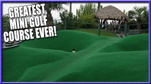 the best mini golf course ever hole in ones and crazy shots