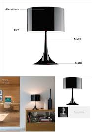2017 italian contracted and fashionable bedroom table lamp bedside