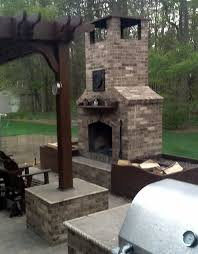 Firerock Masonry Fireplace Kits by 54 Best Outdoor Pizza Oven Fireplace Images On Pinterest