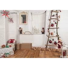 chambre photographie horizontal vinyl impression 3d de noël décoration blanc mur chambre