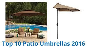 4 Foot Patio Umbrella by 10 Best Patio Umbrellas 2016 Youtube