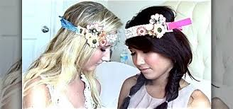 hippie headbands how to make diy bohemian hippie headbands sewing embroidery