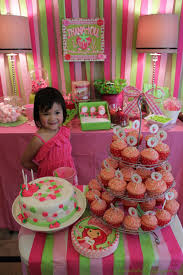 Artistic Anya Designs Strawberry Shortcake Party