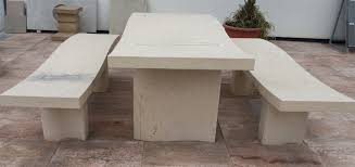 Natural Stone Benches Tables And Benches In Natural Stone Litosonline