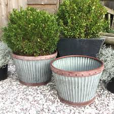 extra large outdoor planters metal planters ebay