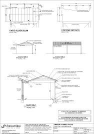 Patio Plans And Designs by Patio Building Plans Streamline Drafting And Design