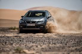 seat leon x perience proves its toughness in the sahara desert
