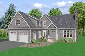 cool design 14 simple cape house plans cod with attached garage