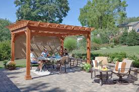 Curtains For Pergola What Is A Pergola Byler Barns