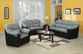 Gray Microfiber Sofa by Connell Sofa In Gray Microfiber U0026 Black Bycast By Acme Furniture