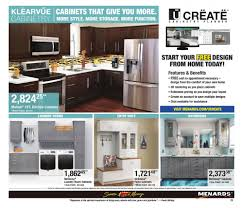 kitchen cabinets and countertops at menards menards flyer 03 24 2019 04 06 2019 page 25 weekly ads