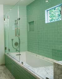Glass Tiles Bathroom Ideas Modern Subway Tile Bathroom Designs Subway Tiles Bathroom