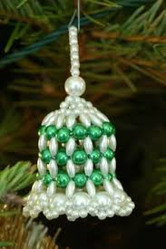 free beaded patterns beaded bell pattern
