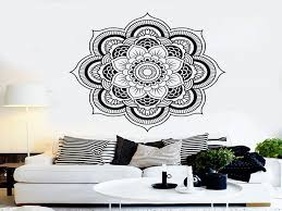 wall decorations for bedrooms wall decals for bedroom inspirational vinyl wall decal mandala