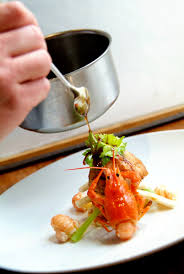 cuisine de chef a glass of water with mugaritz chef andoni aduriz and his