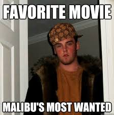 Malibus Most Wanted Meme - favorite movie malibu s most wanted scumbag steve quickmeme