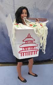 sonya nimri chinese to go box halloween costume