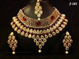 indian bridal necklace sets images Indian bridal stone necklace sets buy indian artificial bridal jpg
