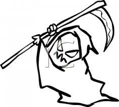 royalty free grim reaper clip art halloween clipart
