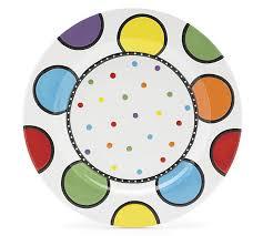 painted platter 14 12 diameter painted ceramic platter no wording