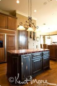 Custom Kitchen Cabinets By Kent Moore Cabinets Rustic Hickory - Kent kitchen cabinets