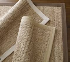 Chenille Jute Rug Pottery Barn Color Bound Flat Braided Jute Rug Honey Pottery Barn