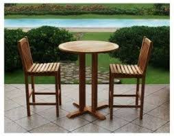 Edison Bistro Table Tall Bistro Sets Foter