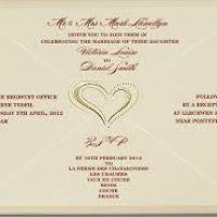 How To Word A Wedding Invitation Sample Of Wedding Cards Justsingit Com