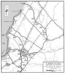 Map Of Guam Hyperwar Usmc Monograph The Recapture Of Guam