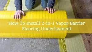 Vinyl Plank Flooring Underlayment Installing Underlayment Underlayment For Vinyl Plank Flooring In