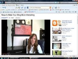how to make a blog interesting media