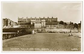 westbrook pavillion from sands margate victorian margate photos