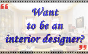 i want to be an interior designer interior design course online