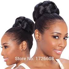 black hair buns 2016 fake hair buns for black women hair make up chignon hairpiece