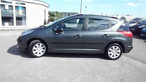 peugeot for sale uk 2009 peugeot 207 sw 1 6 hdi s 30 tax estate for sale www