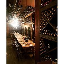wine cellar table il buco restaurant new york ny opentable