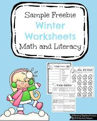 1st grade december math and literacy worksheets planning playtime