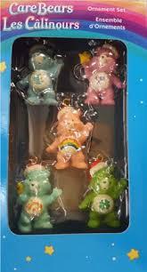 care bears ornaments set miniature american greetings set of 5