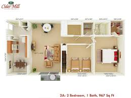 cider mill apartments floor plans