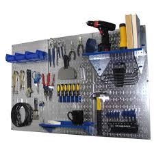 wall 32 in x 48 in metal pegboard standard tool storage